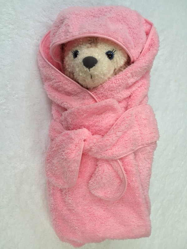 Hooded Infant Baby Wrap 1