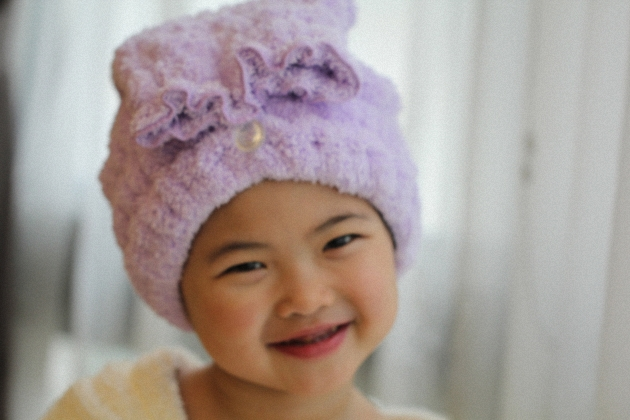 Kid' Hair SPA turban 1