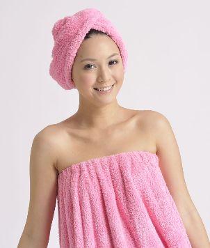 Bath Wrap w/adjustable plastic buttons 2