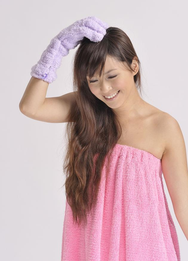 Hair Drying Glove 1