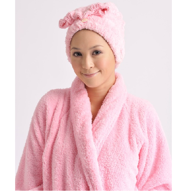 Adult's Shawl Collar Robe, solid color 1