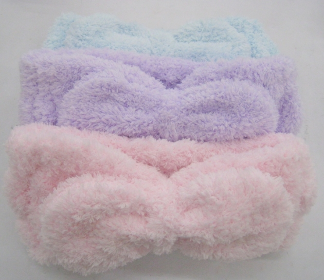 Fluffy Hair Band with bow 3