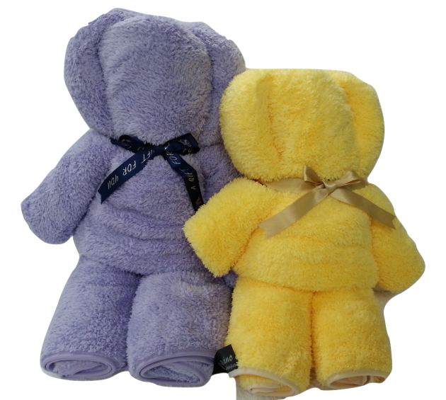Towel Bear Gift Set 3