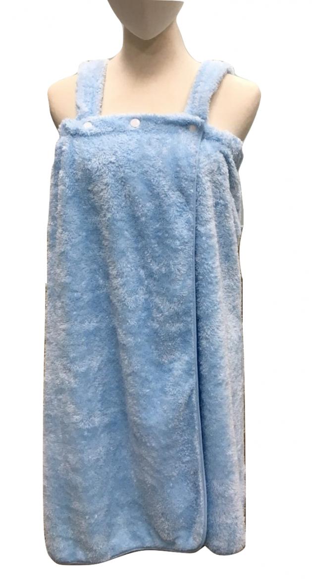 Shower Wrap with shoulder straps 2